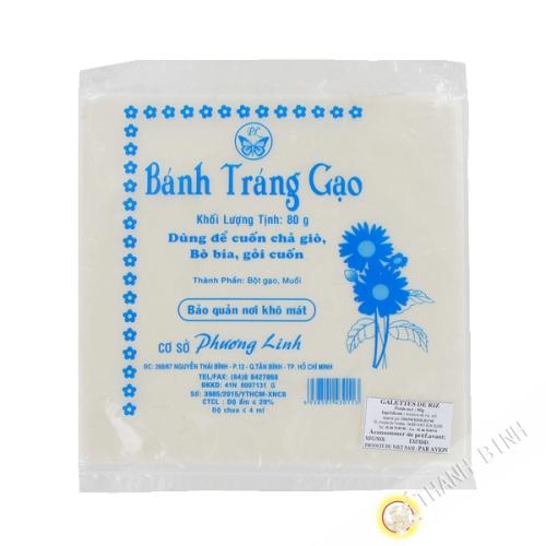 Pastel de arroz dulce PHUONG LINH 80g de Vietnam