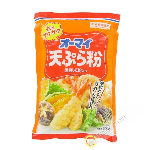 La harina de tempura bateador 320g JP