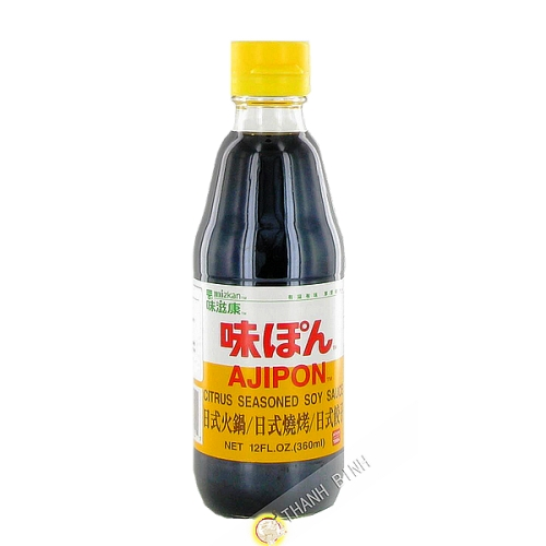 Sauce, vinegar, ajipon 360ml JP