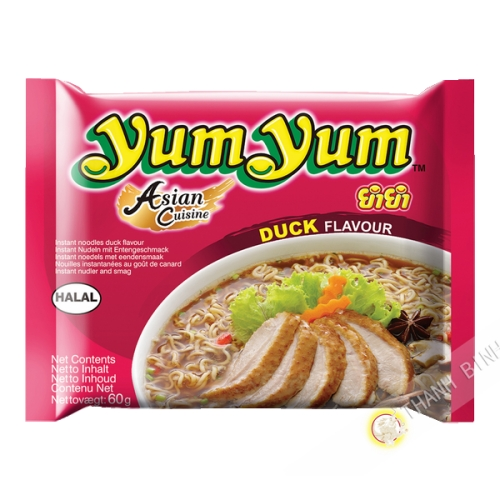 Soupe nouille YUM YUM canard 60g Thailande