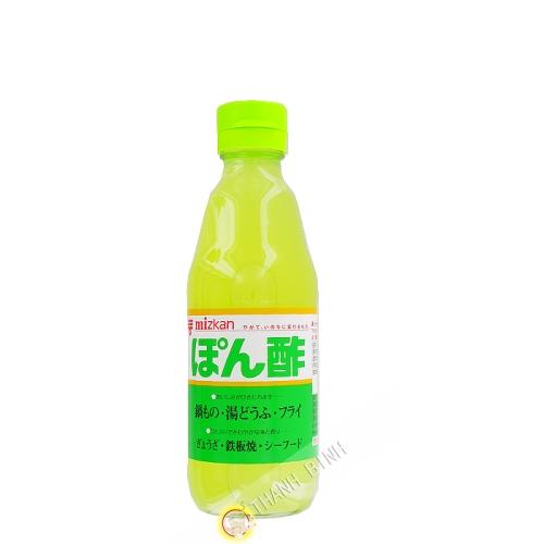 El vinagre de cítricos MITSUKAN 360ml Japón