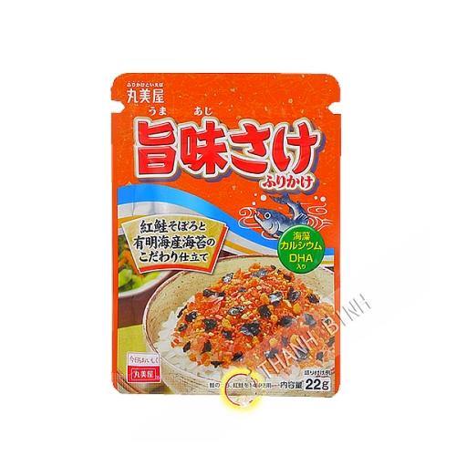 Condimento di riso caldo Norifuri MARUMIYA 24g Giappone