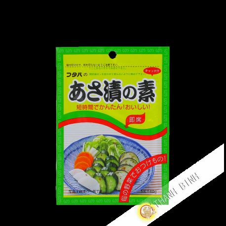 Assaisonnement légumes Asazuke FATABA 40g Japon