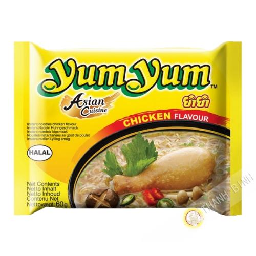Nouille instantanee Yum yum poule 60g
