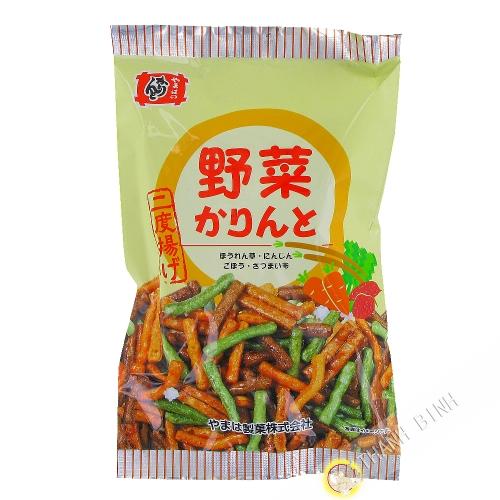 Biscotin Karinto goût légume YAMAHA 126g Japon