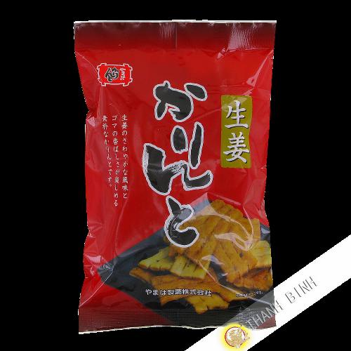 Biscotin Karinto ginger YAMAHA 140g Japan