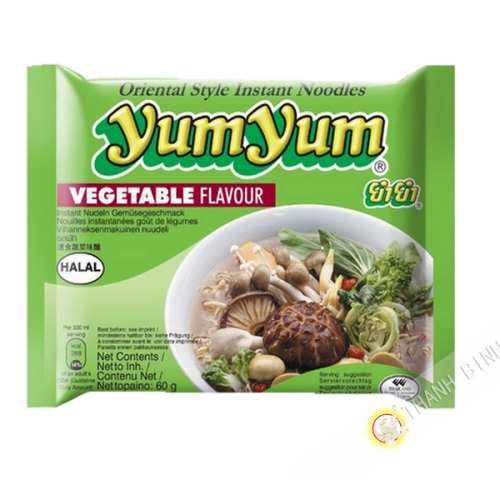 Nouille instantanee Yum yum vegetarien 60g