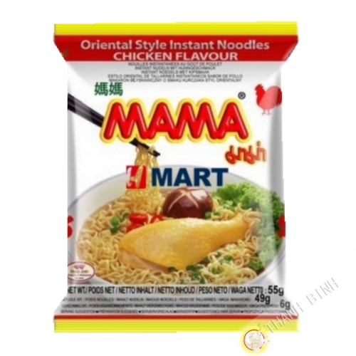 Soup noodle chicken MAMA 55g Thailand