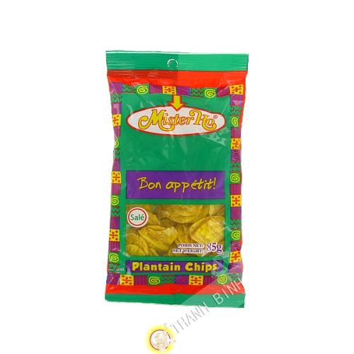 Chip de plátano sucio 85 g - África