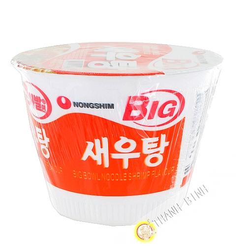 Soup noodle Ramen shrimp Bowl NONGSHIM 115g Korea