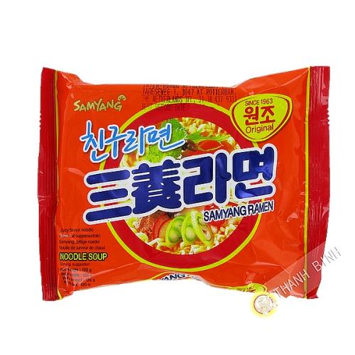 Soup noodle Ramen SAMYANG 120g Korea