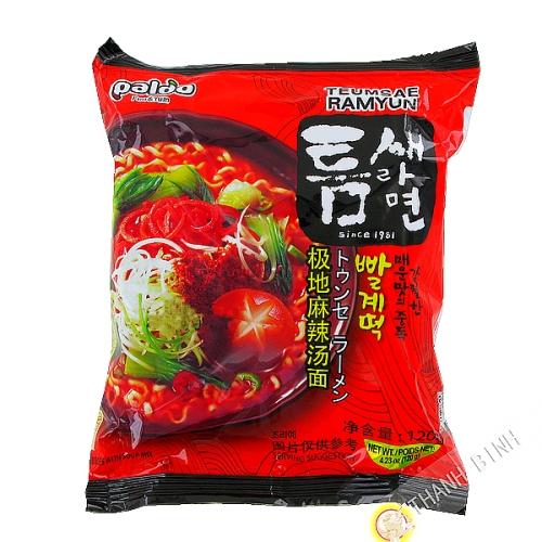 Soup noodle Ramen Teumsae Ramyun PALDO 120g Korea