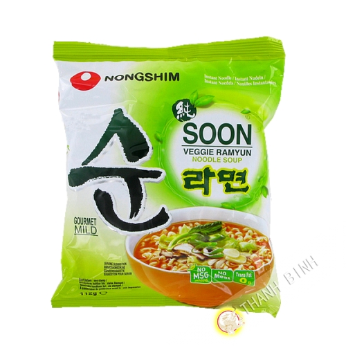 Soup nouillle vegetable Soon Veggi Ramyun NONGSHIM 112g Korea