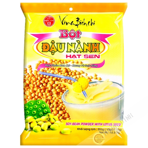 Preparation drink yellow bean, lotus Bich Chi 350g VN