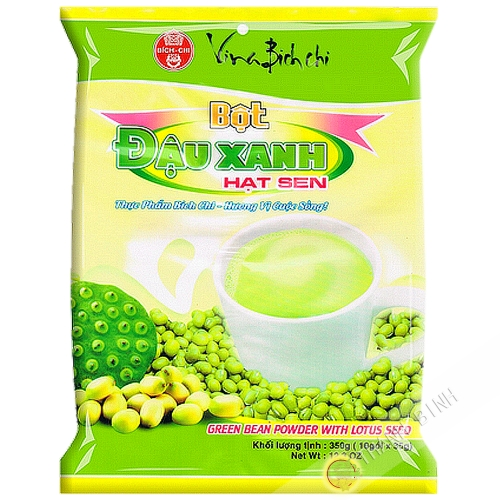Preparation drink mung bean lotus BICH CHI 350g Vietnam