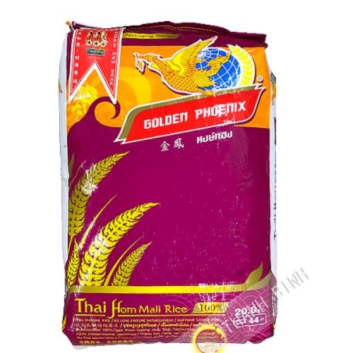 De arroz fragante largo del DRAGÓN de ORO 20kgs Tailandia