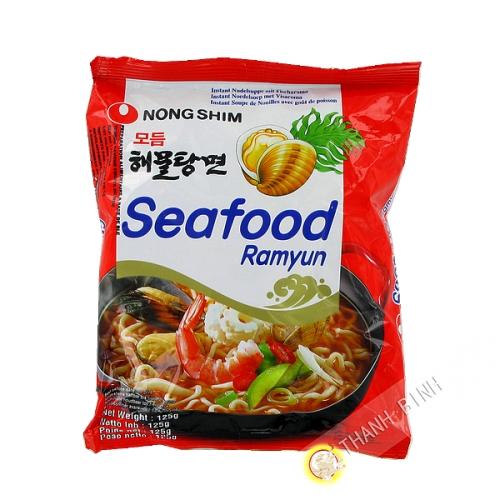 Soupe seafood Ramyun 125g - Corée