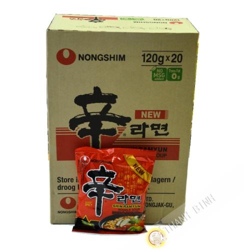 Soup Shin Ram Yum 20x120g - Korea