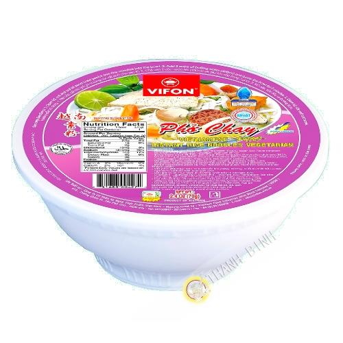 Sopa pho vegetariana Tazón VIFON 70g de Vietnam