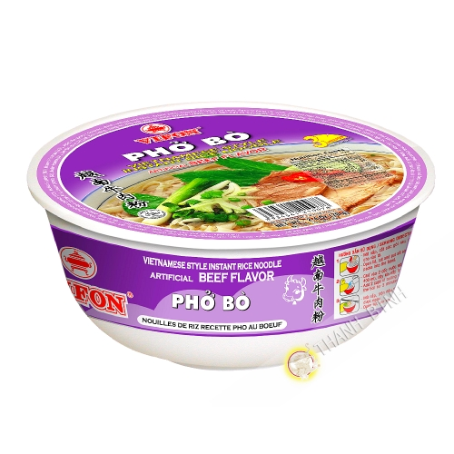 Soup pho beef bowl VIFON 70g Vietnam