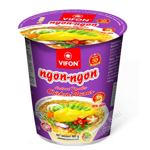 Zuppa di pollo Ciotola Ngon Ngon 60g - Viet Nam
