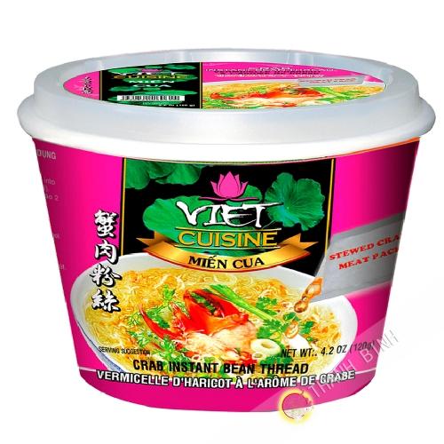 Sopa de Fideos, cangrejo Tazón de VIET COCINA VIFON 120g de Vietnam