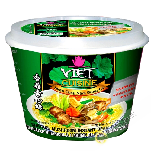 Suppe, nudelsuppe vegetarisch Schüssel VIET-KÜCHE VIFON Vietnam 120g