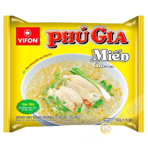 Sopa de fideos de pollo PHU GIA VIFON 50g de Vietnam
