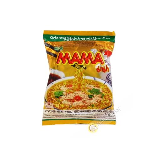 Soup noodle pork MAMA 60g Thailand
