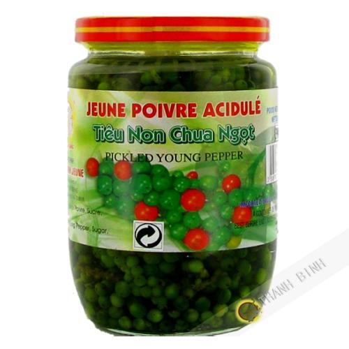 Young pepper acidule 390g
