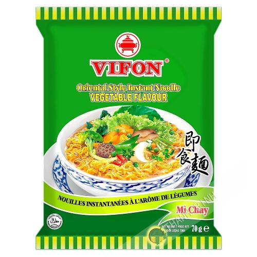 Sopa de fideos vegetariana VIFON 70g de Vietnam