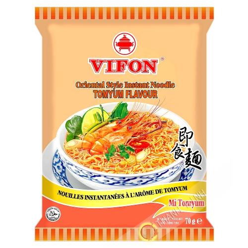 Fideos de la sopa tom yum VIFON 70g de Vietnam