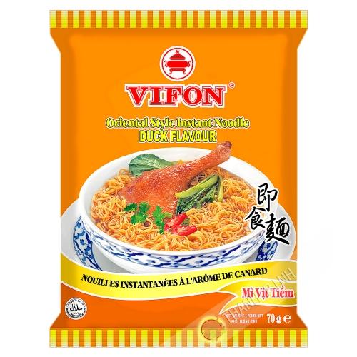 Sopa de fideos con pato VIFON 70g de Vietnam