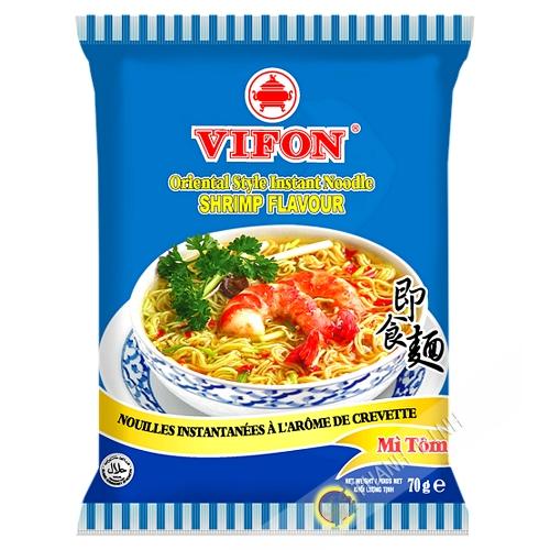 Sopa de fideos con camarones VIFON 70g de Vietnam