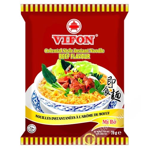 Sopa de fideos con carne de res VIFON 70g de Vietnam