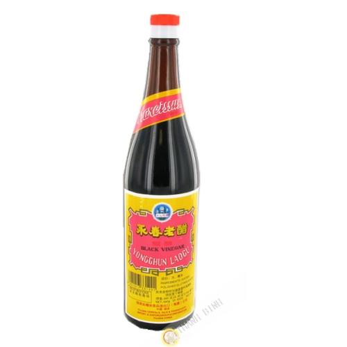 Vinaigre riz noir 640ml 7% CH
