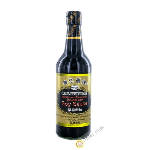 Salsa di soia e funghi PEARL RIVER BRIDGE-500ml Cina