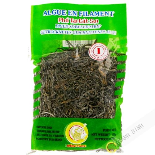 Las algas secas filamento del DRAGÓN de ORO 100g de Vietnam