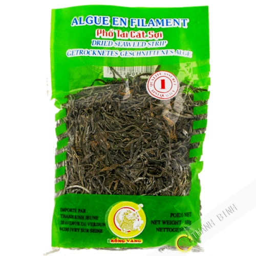 Seaweed dried filament DRAGON GOLD 100g Vietnam