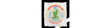 Carta di riso 22cm per involtini primavera 3 di bambù Vietnam 340g