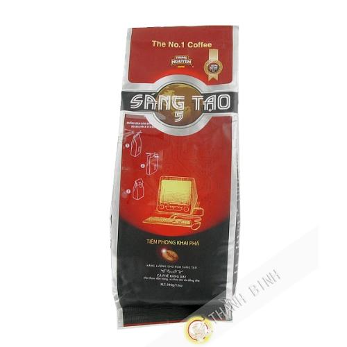 咖啡地血陶第5号TRUNG NGUYEN340克越南