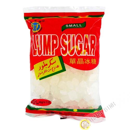 El azúcar blanco de la pieza de 400g
