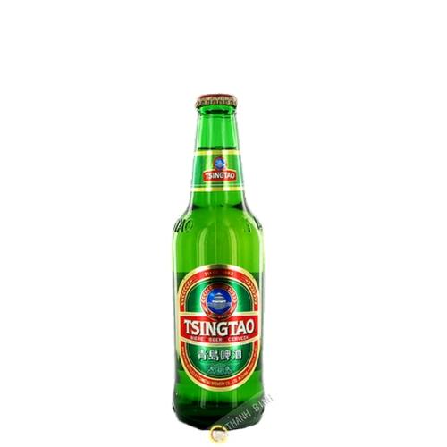 La cerveza de Tsing Tao 330 ml de CH