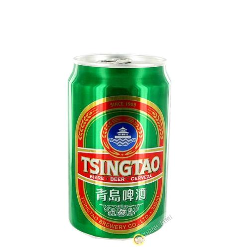 La cerveza de Tsing Tao 330 ml Pueden CH
