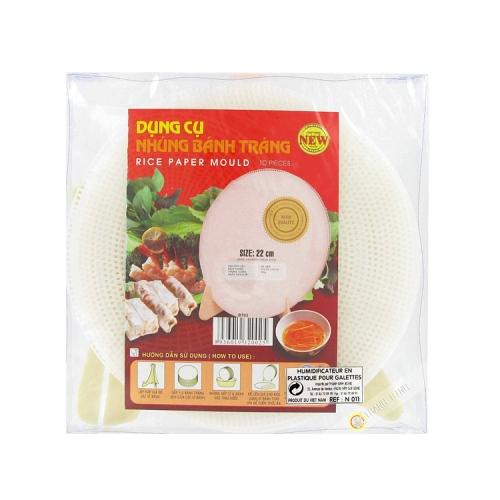 Humidifier Sheet of rice BT03 22cmx10pcs VINH TRUONG, Vietnam