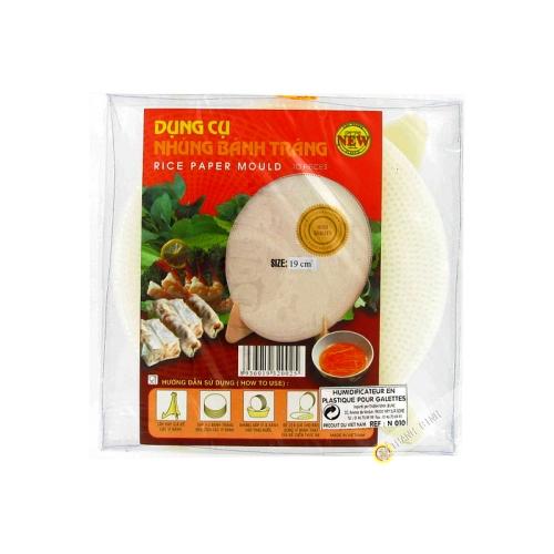 Humidificador de pastel de arroz de 18cm