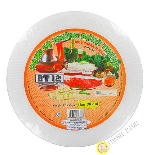 Humidificador de pastel de arroz de 30cm