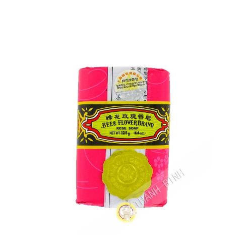 肥皂玫瑰花蜜蜂花125g中国