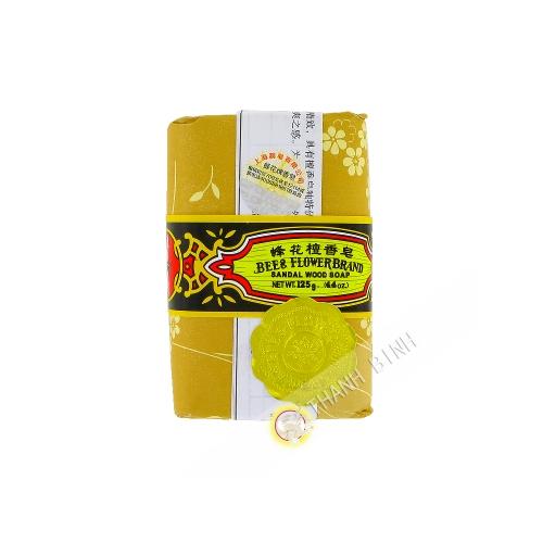 Jabón de Sándalo 125g de ABEJA y FLORES de China
