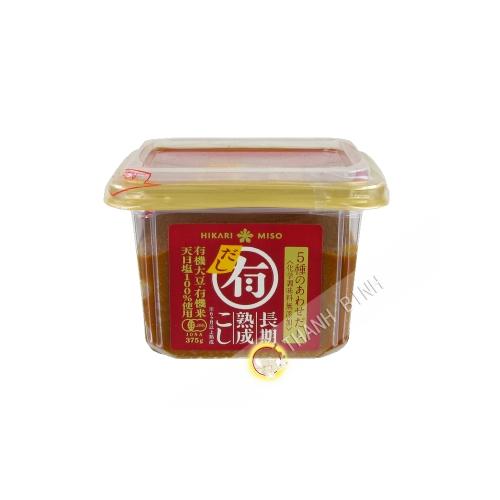 La pasta de Miso Dashi Orgánica HIKARI 375g Japón